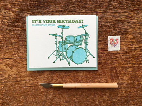 Birthday Noise Greeting Card