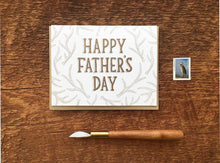 Father Antlers Greeting Card