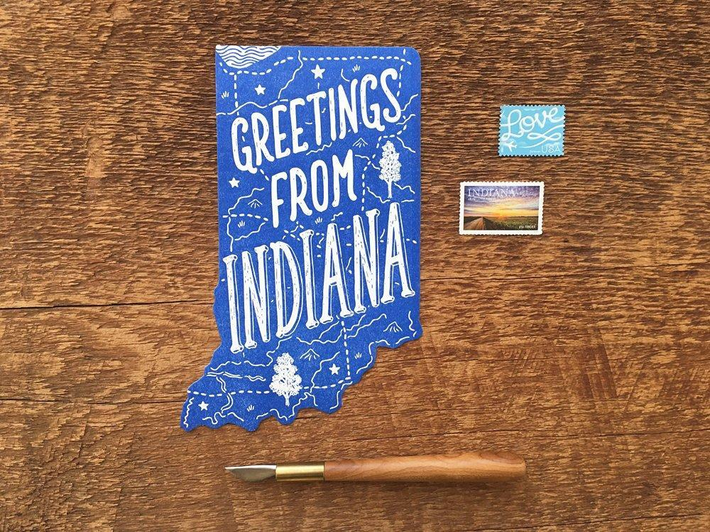 Greetings from Indiana