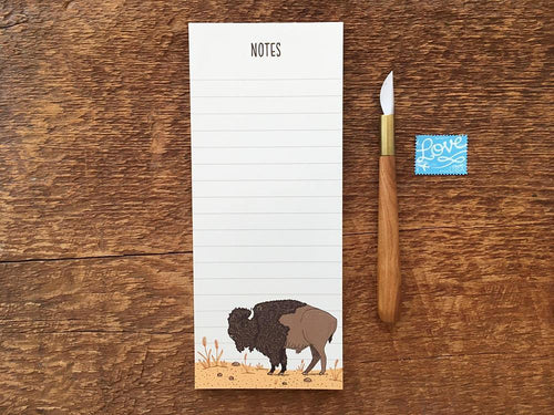 Bison Notepad