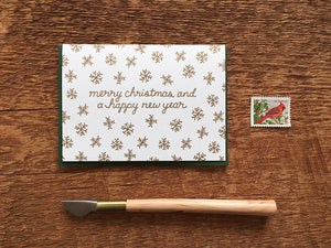 Christmas & New Year Greeting Card