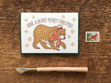 Beary Merry Greeting Card