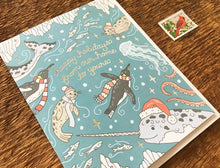 Ocean Holiday Greeting Card