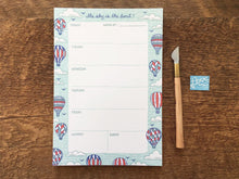 Sky's The Limit Weekly Planner Notepad