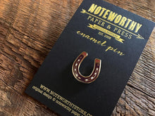 Horseshoe Enamel Pin