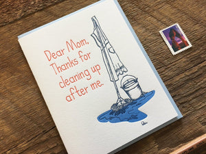 Dear Mom Greeting Card