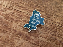 Grand Teton National Park Enamel Pin