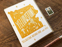 Yellowstone National Park Greeting Card