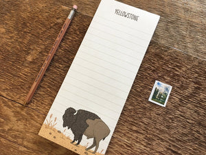 Yellowstone National Park Notepad