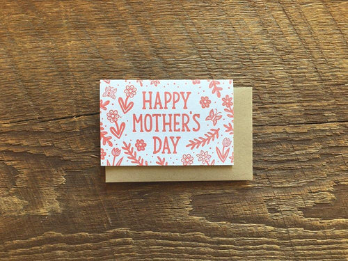 Mom Flowers Mini Card