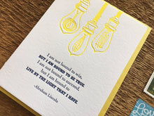 Lincoln Quote Greeting Card