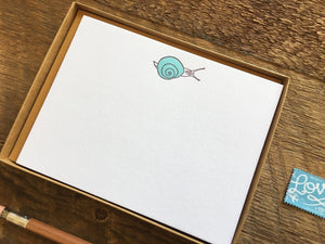 Snail Mail Flat Stationery