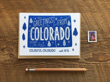 Greetings from Colorado Card