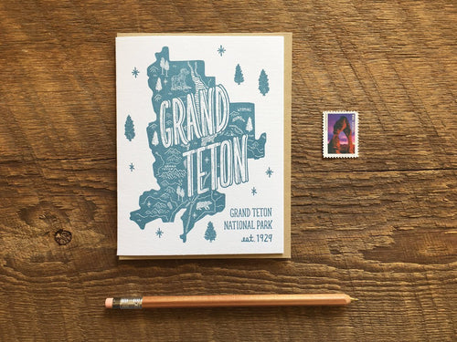 Grand Teton National Park Card