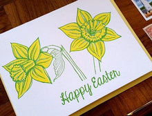 Easter Daffodils Greeting Card