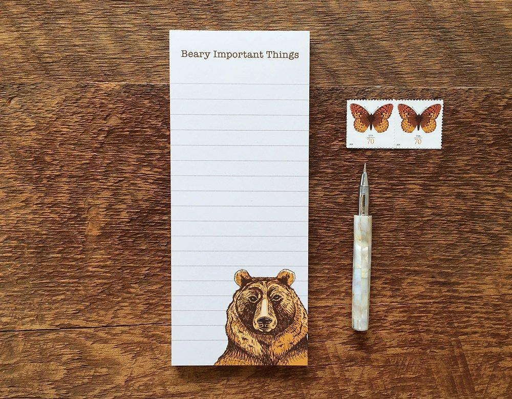 Bear Notepad