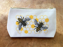 Honey Bee Zip Pouch