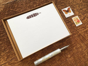 Feather Flat Stationery