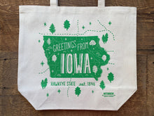 Iowa Tote Bag