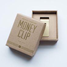 """Keep it Together"" Brass Money Clip"