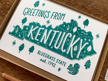 Greetings from Kentucky Card