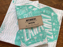 Aloha from Lanai Tea Towel