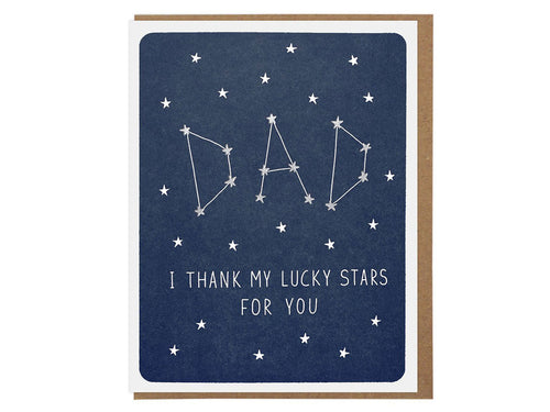 Lucky Stars Dad, Single Card
