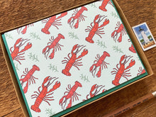 Lobster Pattern Greeting Card