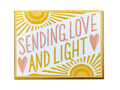 Love and Light Greeting Card