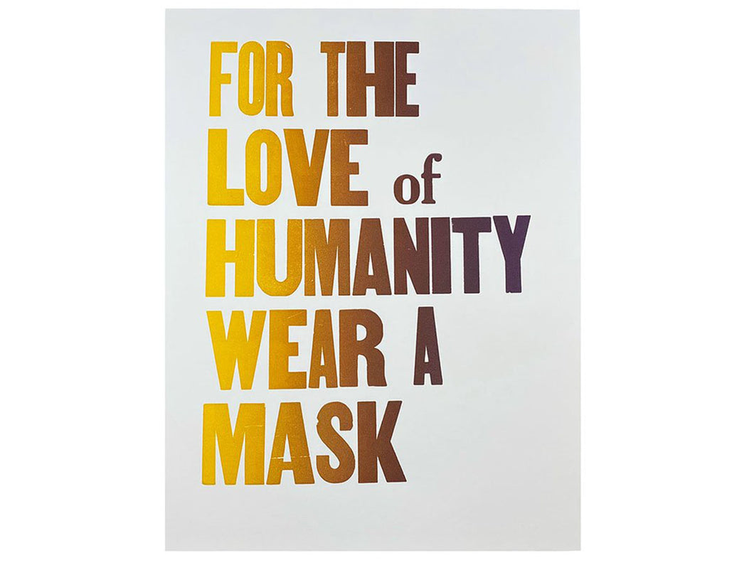 Wear A Mask Poster