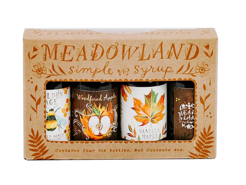 Autumn Sun Collection - Simple Syrup Sampler