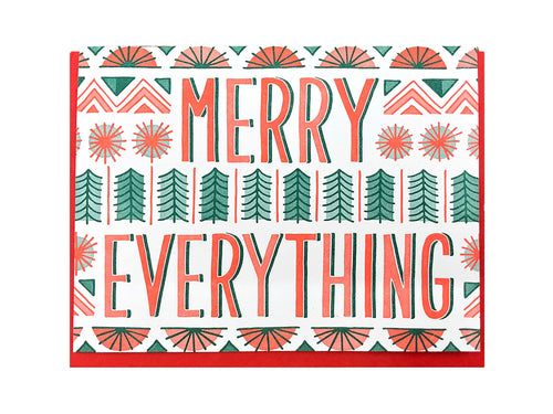 Merry Everything Greeting Card