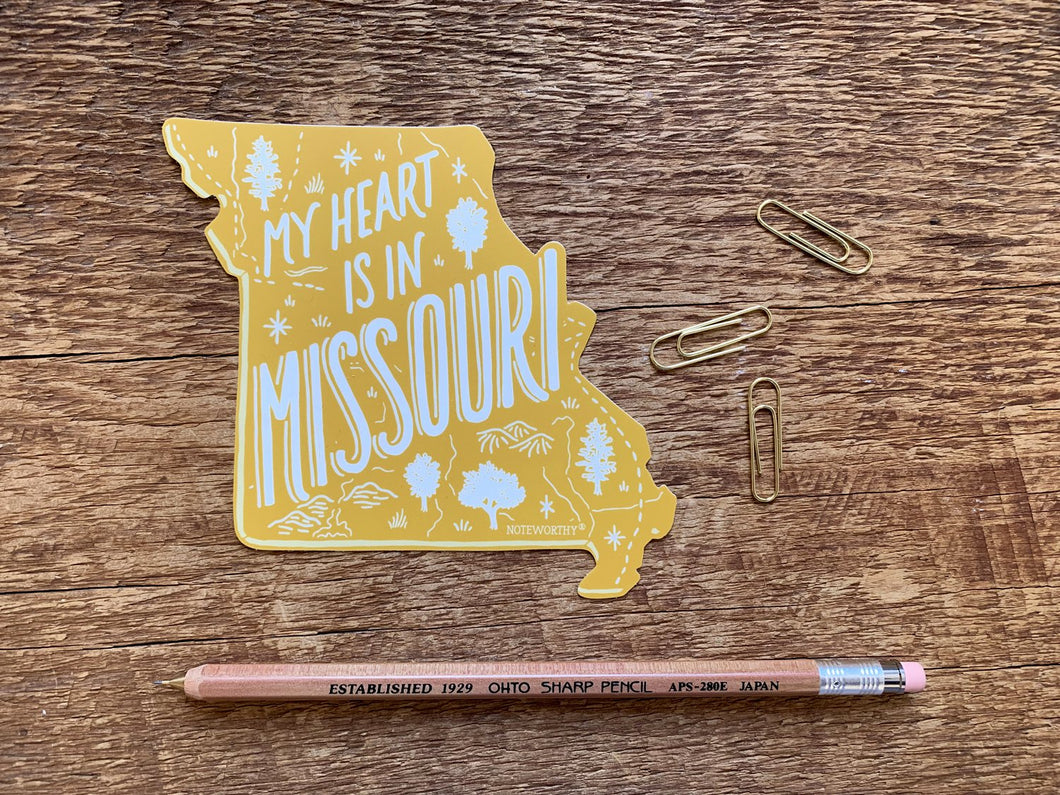 Missouri State Sticker