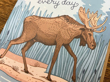Moose-ing You Greeting Card