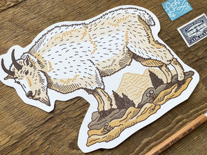 Mountain Goat Postcard