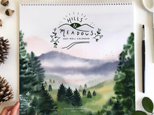 2021 Hills and Meadows Landscape Wall Calendar