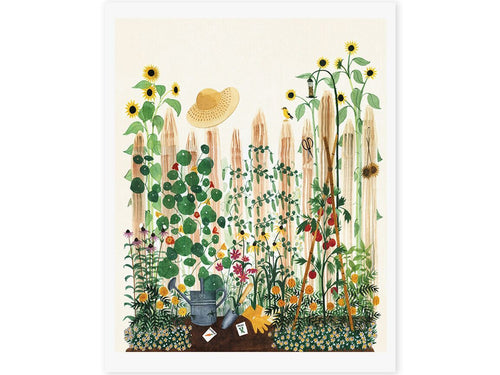 Mother's Garden Art Print, 8 x 10