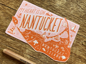 Nantucket Island Sticker