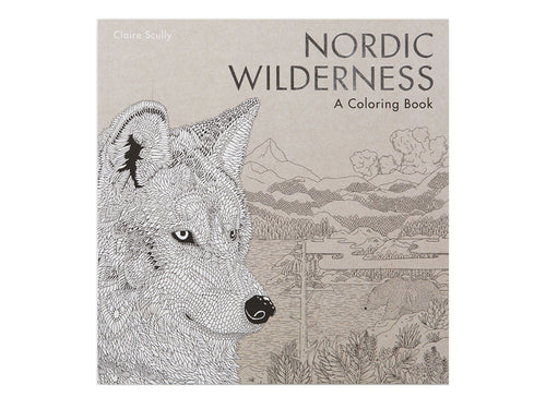 Nordic Wilderness - Coloring Book