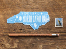 North Carolina State Sticker