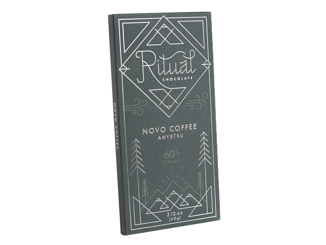 Novo Coffee 60% Chocolate Bar