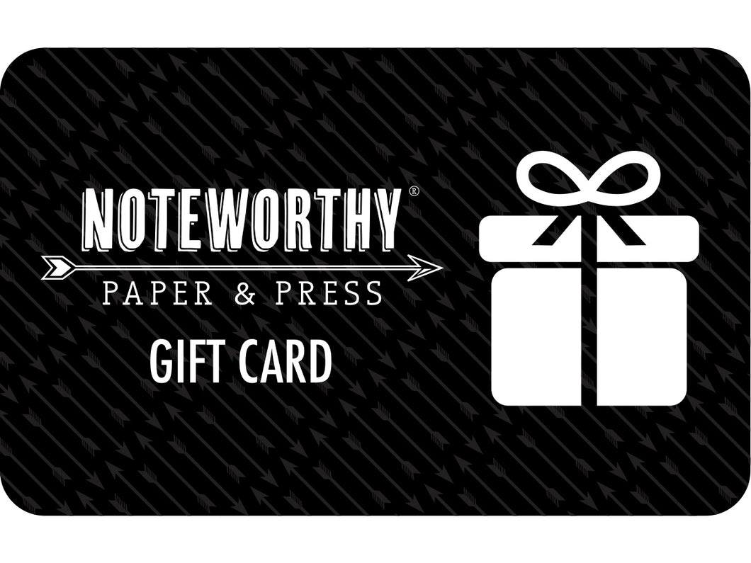 Noteworthy Gift Card