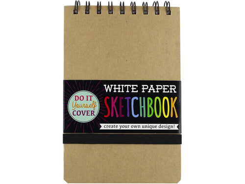 DIY Kraft Cover Sketchbook, 5.x7.5