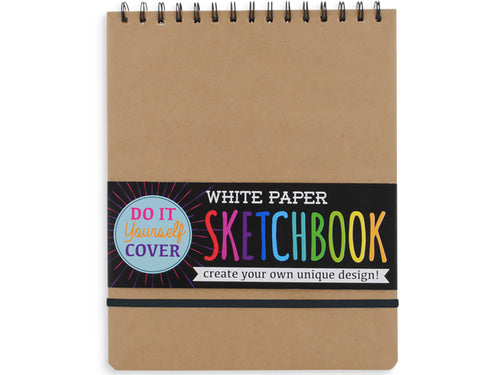 DIY Kraft Cover Sketchbook, 8x10.5