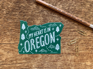 Oregon State Sticker