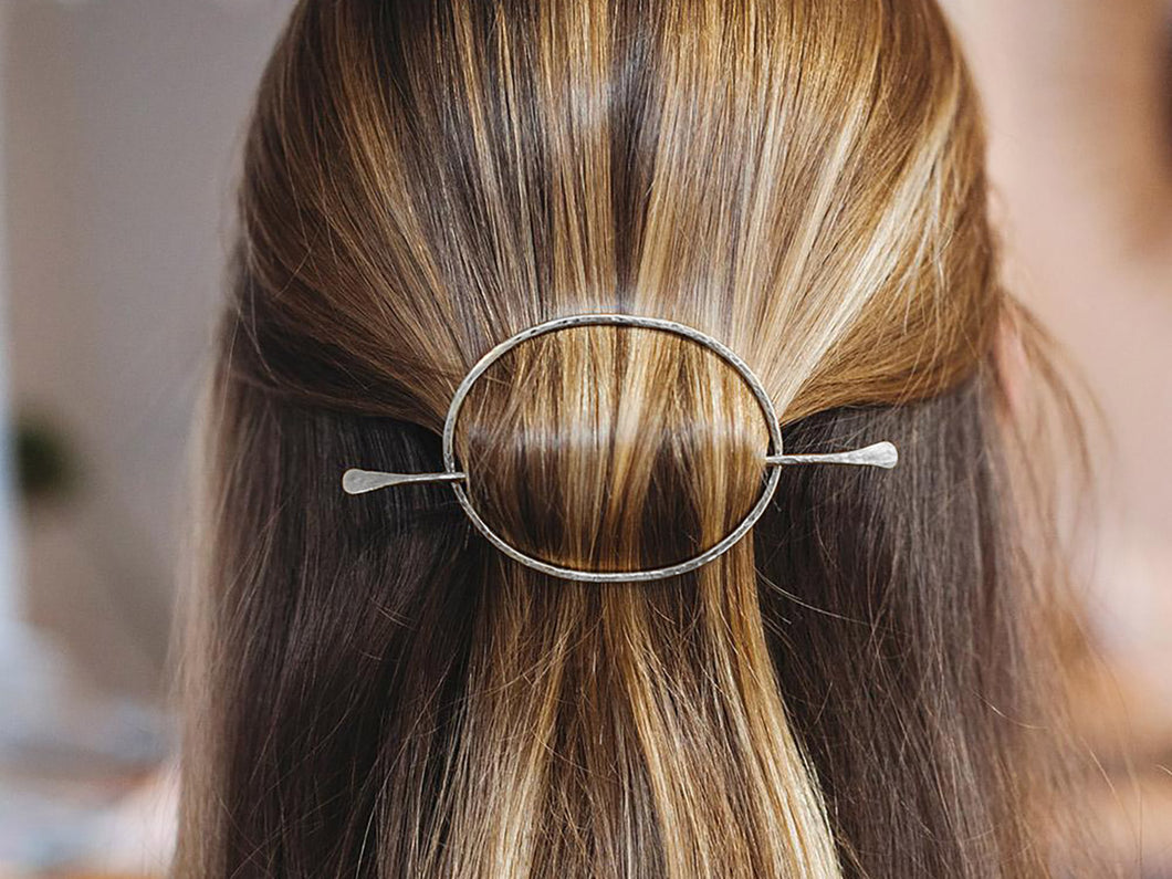 Oval Hair Slide
