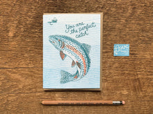 Perfect Catch Greeting Card