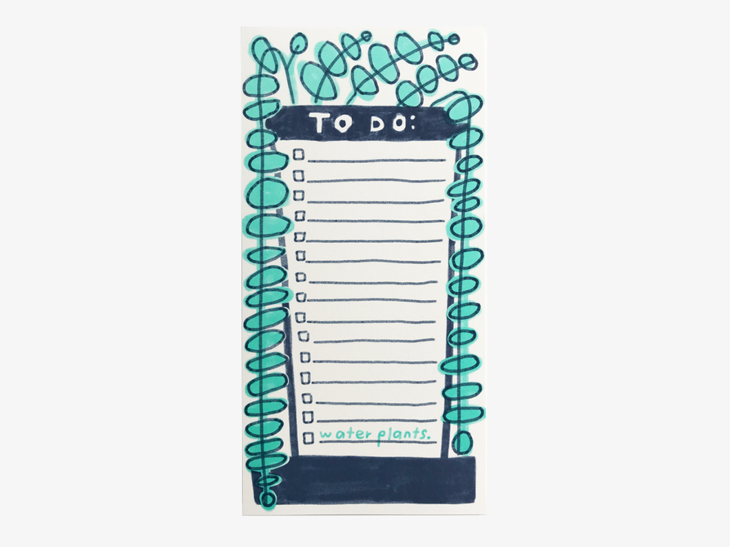 Plants Notepad