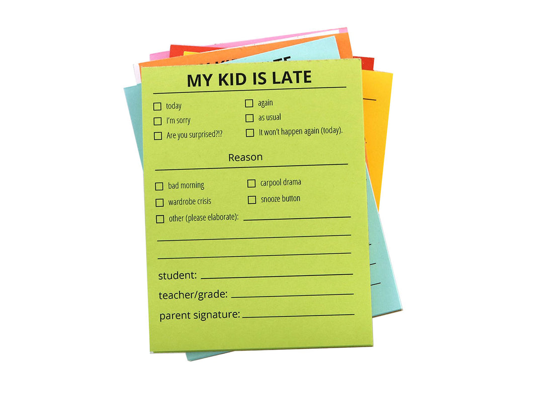 Kid's Late Notes, Blue