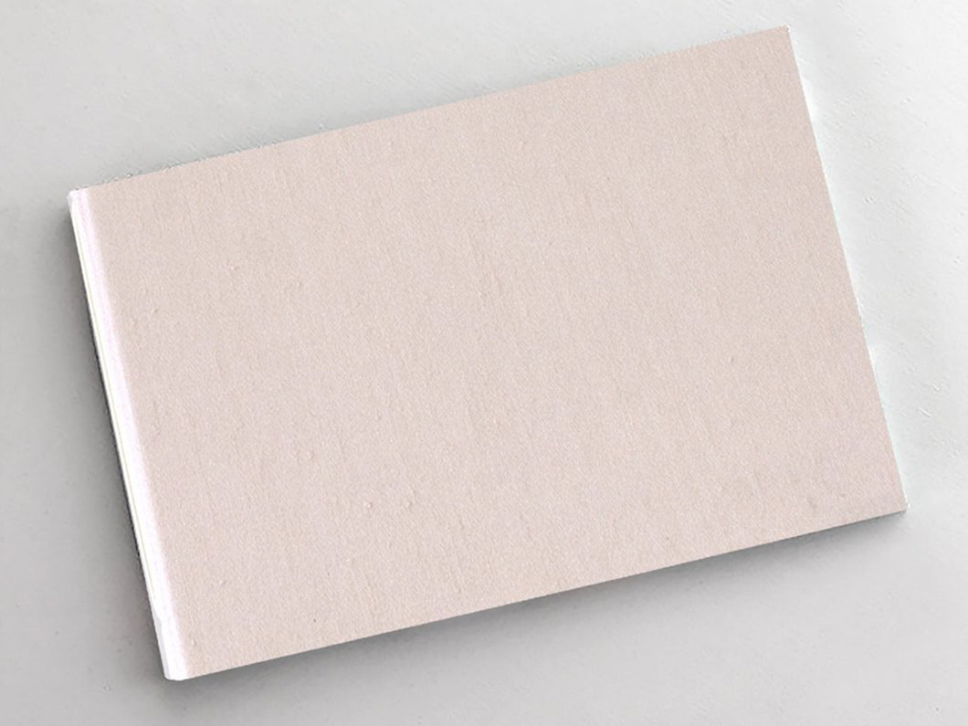 Guest Book, Blush Silk, Lined